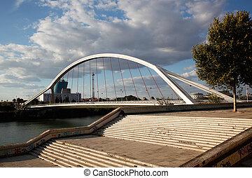 Puente de la Barqueta Sevilla