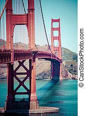 puente de la puerta de oro, san francisco, estados unidos de américa