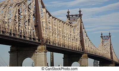 puente de queensboro, en, nyc