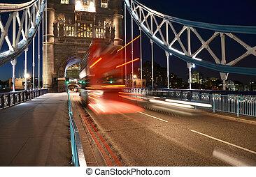 puente de torre, en, londres