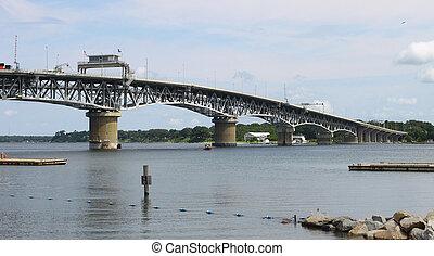 puente, encima, yorktown, virginia, p, yendo, york, coleman,...