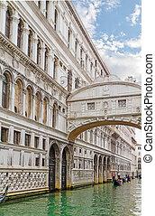 puente, europ, suspiros, italia, ponte, -, dei,...