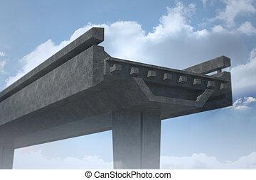puente, inacabado