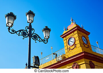 Puente Isabel II bridge in Triana Seville Spain - Puente...