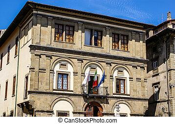 Puente, Italia,  Ponte, Toscana, Casas,  Vecchio, Florencia, río,  Arno