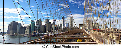 puente, nyc, brooklyn, panorama