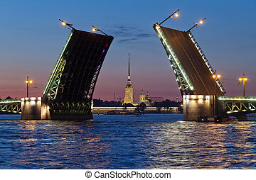 puente, palacio, paul, peter, abierto, fortaleza
