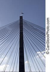 puente, pilón