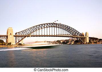 puente, puerto de sydney