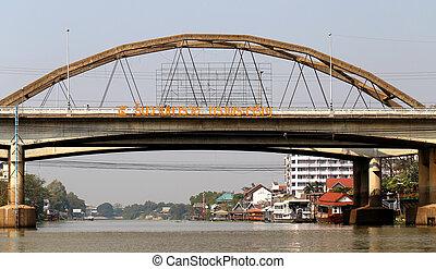Puente, río