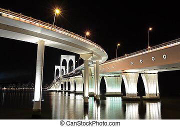 puente, sai, furgoneta, macao