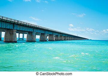 puente, siete, milla, florida