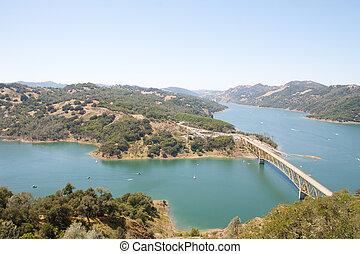 puente, sonoma, lago