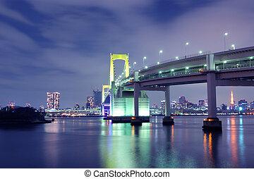 puente, tokio, arco irirs