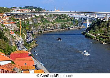 puentes, portugal., porto