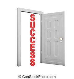 puerta, éxito