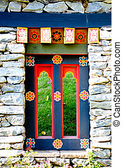 puerta, corea, tradición