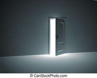 puerta de inauguración