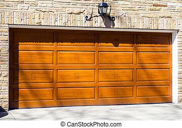 puerta del garage
