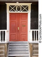 puerta, detalle