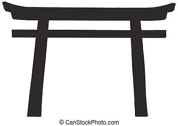 puerta, japaneese