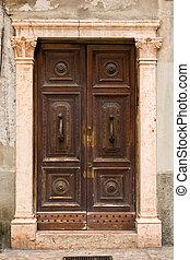 puerta, medieval