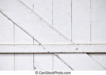 puerta, plano de fondo, granero