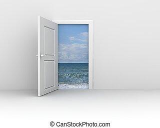 puertas, concepto
