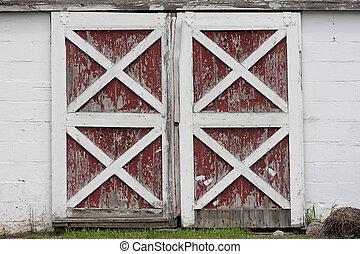 puertas de granero