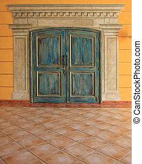 puertas, doble