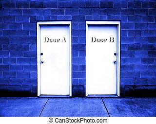 puertas, elecciones