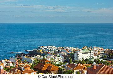 Puerto de la Cruz, Tenerife, Spain - houses Puerto de la...