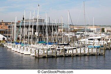puerto deportivo, annapolis
