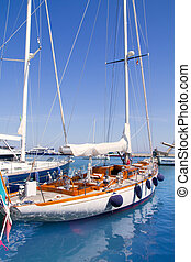 puerto deportivo, formentera, lujo, yates