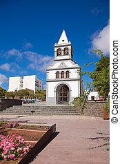 puerto, fuerteventura, 教会, del, スペイン, 島, ロサリオ, カナリア