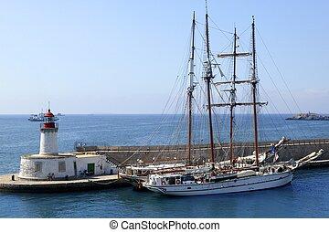 puerto, ibiza, balear, españa, islas