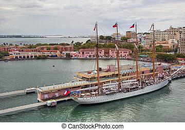 puerto, karaibski, rico, wyspy