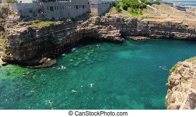 Puglia Polignano a Mare - Bari - Italy .