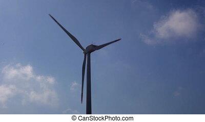puissance, énergie, turbines, propre, alternative, fournir, vent