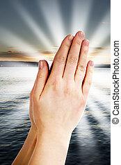 puissance, de, prière
