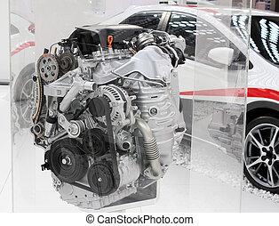 moteur voiture puissant v6 nouvelle technologie photographie de stock rechercher des. Black Bedroom Furniture Sets. Home Design Ideas
