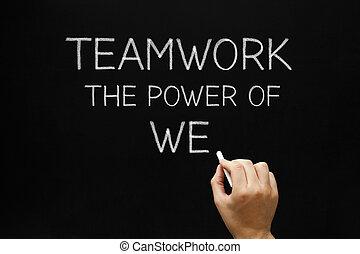 puissance, nous, collaboration, -