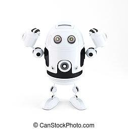 puissant, robot