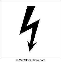 puissant, symbole, éclairage
