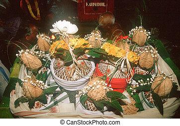 Puja paraphernalia - Gangakonda, Tamil Nadu, india