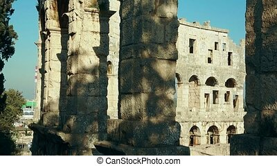 Pula Arena, Roman amphitheater in Pula, Croatia Europe