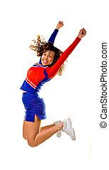pular, cheerleader
