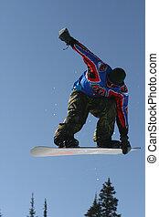pular, snowboarder