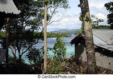 pulau, isla, weh, costa, mar, paisaje