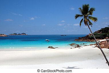 pulau, redand, 3, plage